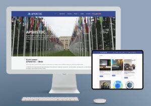 Website APSHSTDC - SetUp Inicial