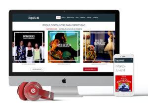 Website Companhia da Esquina: Programação & Personalização