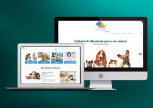 Website WordPress - Clínica veterinária