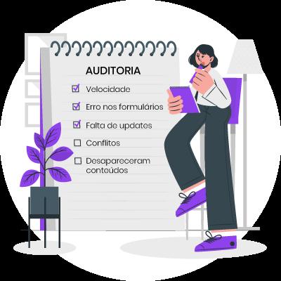 Auditoria para site em WordPress